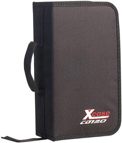 Xcase CD Mappe: CD/DVD/BD-Tasche für 120 CD/DVD/BDs (DVD Ordner)