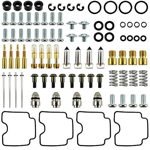 Fltaheroo Kit di Riparazione Carburatore, Adatto per GSX600F GSX 600 600F Katana 1998-2006, per 1998-2006 GSX600F Katana, Sostituisci 26-1694