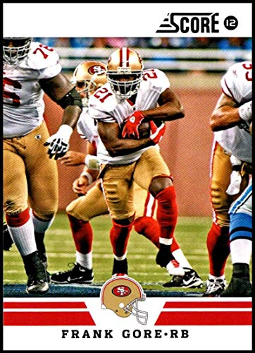 2012 Panini Score #14 Frank Gore NM-MT San Francisco 49ers Official NFL Football Card
