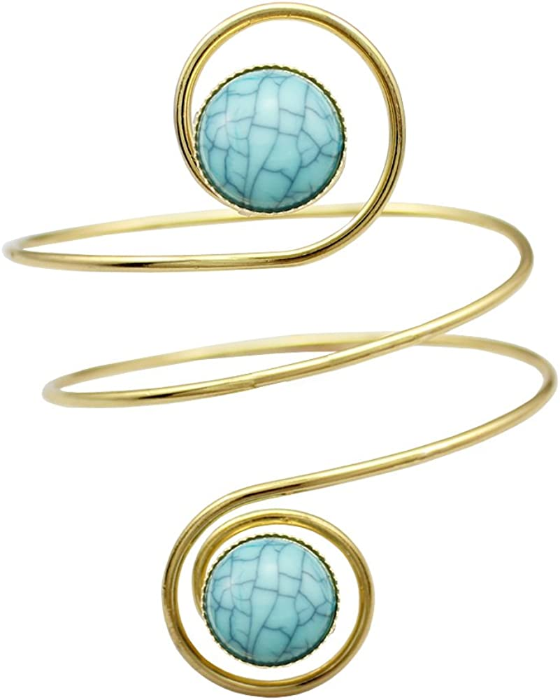 QQ Fashion Egypt Oakland Mall Cleopatra Turkey Blue Stone Swirl Spira Year-end annual account Double