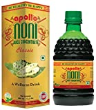Apollo Noni Juice Classic Concentrate 450ml, Pure Herbal & Natural, No Added Sugar