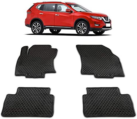 TeddyTT Floor Mats Compatible with Nissan Rogue 2014 2015 2016 2017 2018 2019 2020 Heavy Duty product image
