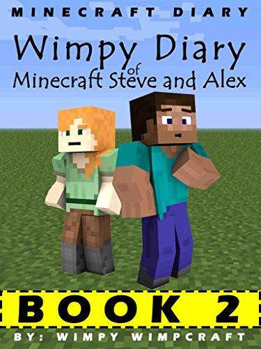 Amazon Com Minecraft Diary Wimpy Diary Of Minecraft Steve And