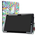 Chuwi Hi10 Air Tablet Case,LiuShan PU Leather Slim Folding Stand Cover for 10.1' Chuwi Hi10 Air Android Tablet PC (Not fit CHUWI Hi10 /Hi10 Plus),Love Tree