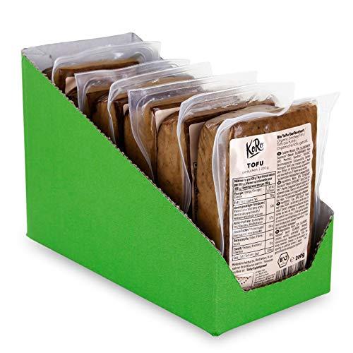 KoRo - Bio Tofu Geräuchert 6x 200 g, Eiweißreicher Allrounder in Bio-Qualität