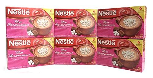 Nestle Mini Marshmallows Hot Cocoa Mix 427 Ounce Pack of 6