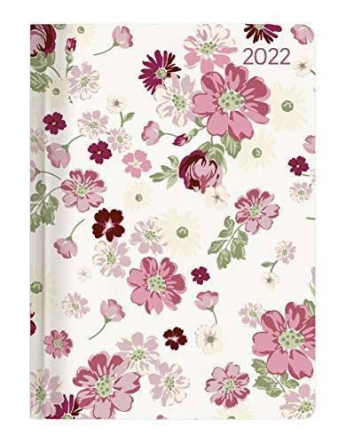 Ladytimer Flower Love 2022 - Blume - Taschenkalender A6 (11x15 cm) - Weekly - 192 Seiten - Notiz-Buch - Termin-Planer - Alpha Edition
