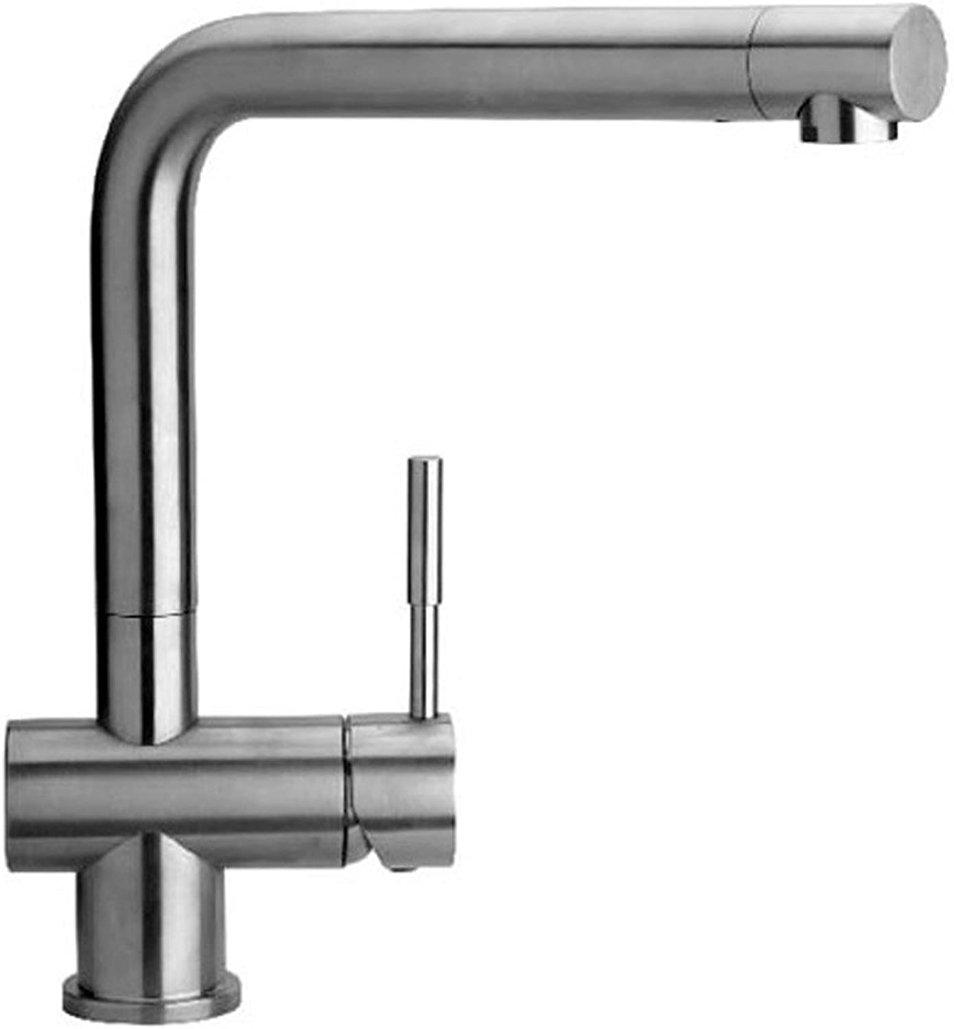 First f-ixa1570l2am Single Lever Sink Mixer for Kitchen, Stainless