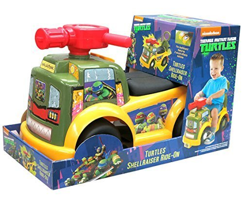 Teenage Mutant Ninja Turtle Shellraiser Ride on