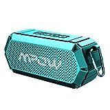Mpow - Altavoz Bluetooth con Conductor Dual Estéreo, Armor Altavoces Inalámbricos Manos...