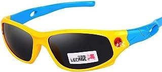 N/T - N/T FS Gafas De Sol para Niños Niño Y Niña, De 3 A 11 Años, 100% De Protección UV, Resistente A Los Impactos, Cómodo Y Seguro (Color : D)
