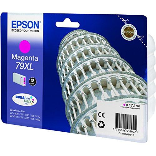 Epson T79XL - Cartucho de tinta para impresoras, Magenta, Ya disponible en Amazon Dash Replenishment