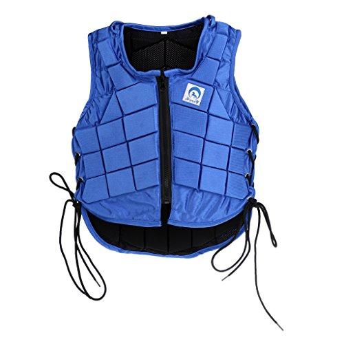 menolana Equestrian Vest Professional Safety Horse Riding Vest Body Protector Gear Waistcoat for Men Women Boys Girls Youth Outdoor Sports Equipment - Men XXL