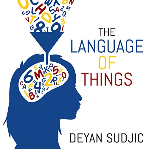 The Language of Things audiobook cover art