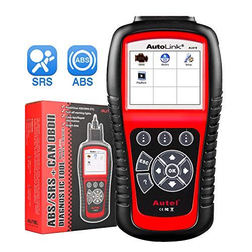 Autel AL619 Autolink Engine/ABS/SRS Warning Light,Quick Test On The Engine System,Read Codes,Erase...