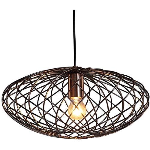 Slow Time Shop Oval Industriependelleuchten, Jahrgang Decke hängende Beleuchtung-Befestigung for Kücheninsel, Esszimmer Kronleuchter, Billiardtisch Light (15.75inch * 7.09inch)