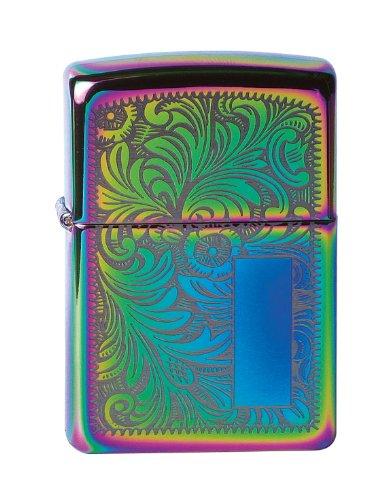 Zippo Zippo Feuerzeug 60000816 Venetian Spectrum Benzinfeuerzeug, Messing, 1 x 3,5 x 5,5 cm Spectrum