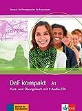 DaF Kompakt - Nivel A1 - Libro del alumno + Cuaderno de ejercicios + CD: Kurs- und Ubungsbuch