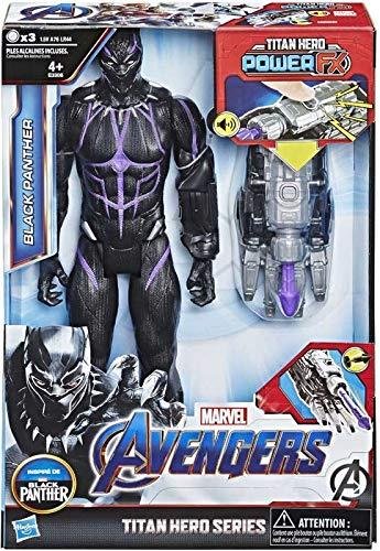 Collector Avengers - Black Panther - Titan Hero-Serie, einschließlich Power FX Pack, ca. 12