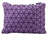 Therm-a-Rest Compressible Travel Pillow for Camping, Backpacking, Airplanes and Road Trips, Amethyst