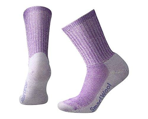 Smartwool Damen Socken Strümpfe Women's Hike Light Crew, Violett (Grape), 38-41 (M)