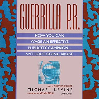 Guerrilla P.R. audiobook cover art