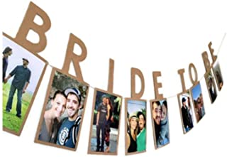 E&L Bride to be Photo Banner, Wedding Decoration, Bridal Shower Decoration