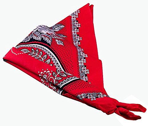 Gevavi Gevavi DOEK03000 Taschentuch, Rot