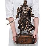 LYTBJ Estatua de Guan Gong Decoración Hogar Adoración de la Fortuna Wu Dios de la Riqueza Guan Erye Dios de la Riqueza Gran Regalo de Apertura Espíritus malignos Dinero Dibujo Riqueza Fortuna