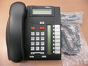 $72 » Nortel Norstar T7208 NT8B26 Charcoal 8 Button Digital Telephone