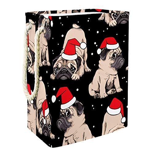 VFSS Cesta de la compra grande para la colada, cesta para la colada, bolsa de ropa, cubo de ropa, adorable beige cachorros