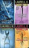 Laurell K Hamilton 4 Book Set Anita Blake series~Cerulean Sins/Danse Macabre/The Harlequin/Incubus Dreams