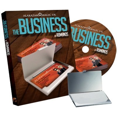 The Business (DVD and Gimmick) by Romanos and Alakazam Magic - DVD