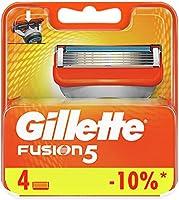 Gillette Fusion men's razor blade refills, 4 count