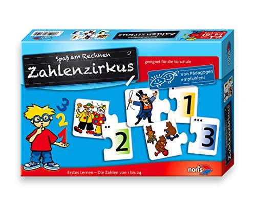 Noris 606076150 - Cijfercircus, puzzels, kinderspel