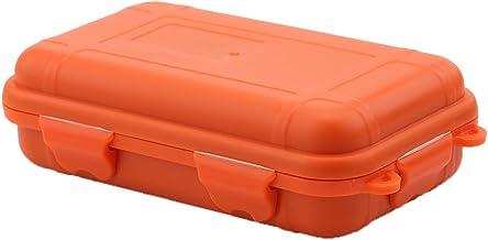 Utomhus plast förvaringsbox stötsäkert vattentätt verktyg förvaringsbox fodral (färg: orange, storlek: L )