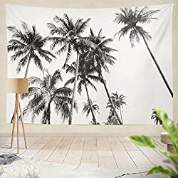 Tropical Palm Tree Tapestry