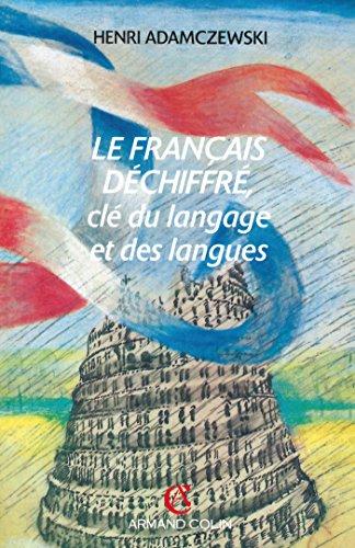 LE FRANCAIS DECHIFFRE