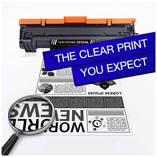 GPC Image 44A CF244A Cartuchos de tóner Compatible para HP CF244A 44A con Chip para HP LaserJet Pro M15a M15w MFP M28a… 3