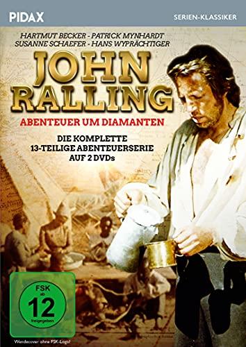 John Ralling - Abenteuer um Diamanten / Die komplette 13-teilige Abenteuerserie (Pidax Serien-Klassiker) [2 DVDs]