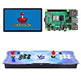 TAPDRA 10000+ Consola arcade de juegos retro para Raspberry Pi 4 Modelo B (Edición 2G Ram) Admite 4 jugadores ES Retropie con 45+ Emuladores HD 720P
