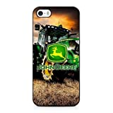 Alezentu Veigen Funda para John Deere Logo Series iPhone 5 5s Case Black iPhone 5 5s Funda UIWEJDFGJ5266