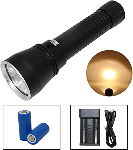 KC Fire Lampe torche P70 32650 Piles