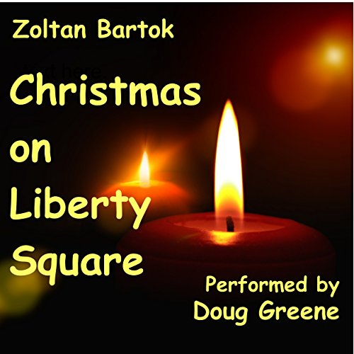 Christmas on Liberty Square audiobook cover art