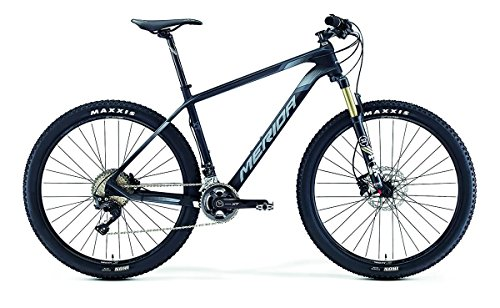 Merida Big.Seven XT 27, 5 Zoll Mountainbike Schwarz/Grau (2016), 38