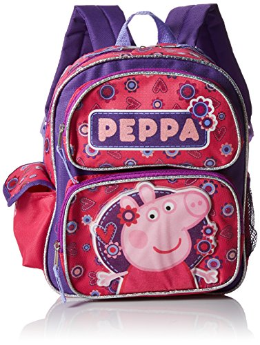 Peppa Pig Girls' Big Backpack Pleasant Peppa, pink, 12 Inches