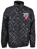 New Era Chicago Bulls Jacke NBA AOP Track Jacket Black - L