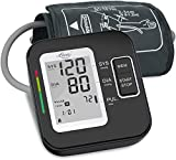 Blood Pressure Monitor for Upper Arm, LOVIA Accurate Automatic Digital BP Machine for Home Use & Pulse Rate Monitoring Meter with Cuff 22-40cm, 2×120 Sets Memory,(BP Monitor New)