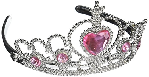 Tiara with Pink Heart Jewel by Rhode Island Novelty