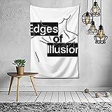 XCNGG Shingeki No Kyojin Edges of Illusion Tapiz Colgante de pared con Art Nature Decoraciones para el hogar para sala de estar Dormitorio